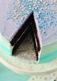 Aqua Pastel Swirl Cake, Sweetapolita    #recipe, tutorial, video, desserts, baking, sweets, party food, wedding, occasions  (http://sweetapolita.com/2012/06/pastel-swirl-cake-video-tutorial/#)
