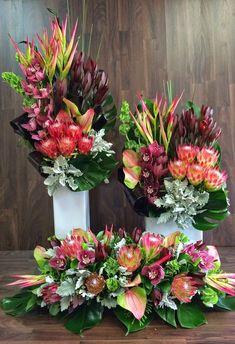 Maui Real Estate Guru Urban Flower: Australian Native Flower Arrangements For Church Event Types Of Flower Arrangement, Tropical Flower Arrangements, Funeral Flower Arrangements, Beautiful Flower Arrangements, Exotic Flowers, Tropical Flowers, Fresh Flowers, Beautiful Flowers, Cactus Flower