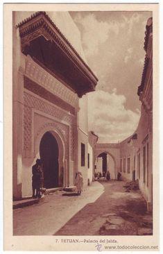Tetuán (Protectorado español en Marruecos): Palacio del Jalifa. L. Roisin. No circulada (Años 30) - Foto 1