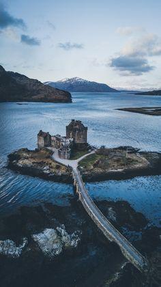 """bokehm0n: """"Eilean Donan Castle - Scotland """""""