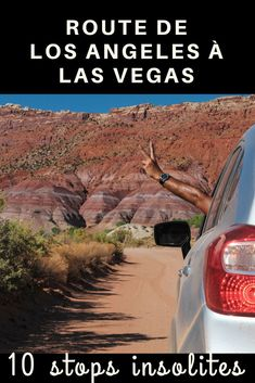 Road from Los Angeles to Las Vegas: 10 unusual stops to discover in the USA Road Trip Usa, West Coast Road Trip, Voyage Usa, Voyage New York, Honeymoon In United States, United States Travel, Nevada, Las Vegas Grand Canyon, Road Trip Destinations