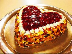 Valentine's Heart Cake - original German recipe