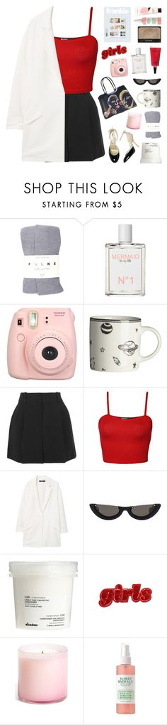 """I LEAVE MY HEART OPEN"" by cappvccino ❤ liked on Polyvore featuring Falke, Mermaid, Fujifilm, H&M, Chloé, WearAll, MANGO, STELLA McCARTNEY, PAWAKA and NARS Cosmetics"