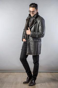 Fur Coat 332 Dark Grey (5)