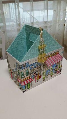 「 パリの水彩画生地でリモコンボックスプレゼント 」の画像|ふんわりかわいいカルトナージュ|Ameba (アメーバ)