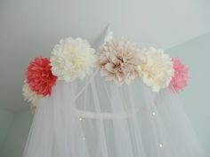 DIY hanging flower m
