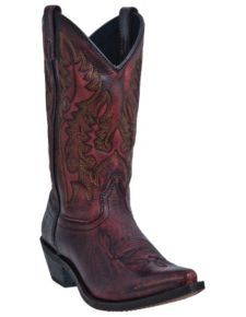 Laredo Tremaine Cowgirl Boots - Snip Toe