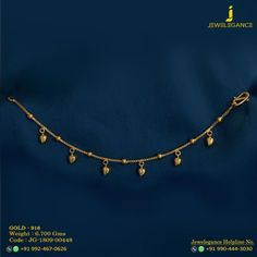 Gold 916 Premium Design Get in touch with us on Gold Earrings Designs, Gold Jewellery Design, Gold Jewelry, Teen Jewelry, Baby Jewelry, Gold Anklet, Anklet Jewelry, Sterling Silver Bracelets, Bangle Bracelets