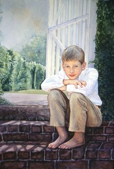 Suzanna Winton Watercolors: Portrait Gallery - 1