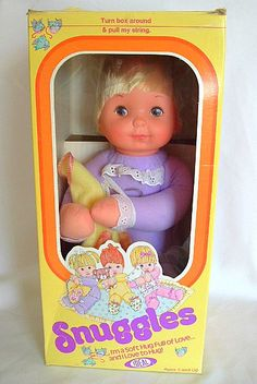My parents gave me this doll when I was a little girl. Something happened and I either lost it or it broke. My dad said he'd replace it for me but as with all limited runs he never found it. If anyone see this exact color one around PLEASE for the love of all that's cherished in your childhood, let me know. I still cry when I remember this.