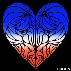 Heart to Trot      #Heart #Love #Lovers #Couple #Horse #Horses #Southwestern #Digitalart