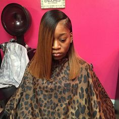 tuesday haircut special side part bob sew in hair slayed slayyed hair 4666 | dd6a634893f11a4f214e3d4caf6677b5