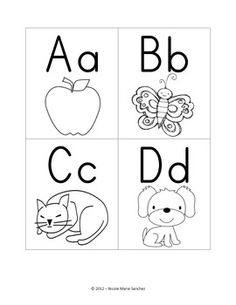 Alphabet Flashcards Freebie