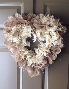 12 inch Heart Wreath
