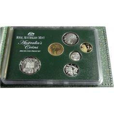 3,85 Dollar CuNi Australien Kursset: 2004 PP