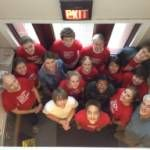 Foundry United Methodist Church volunteers at THC's Partner Arms 1 on March 24, 2012 - Great Day of Service