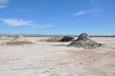 Sights and Sounds: Cali's Gurgling Mud Volcanoes   LiveScience