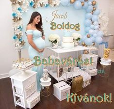 Baby Shower Decorations, Vanity, Mirror, Furniture, Home Decor, Dressing Tables, Powder Room, Decoration Home, Room Decor