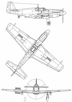 696 Best Aviation: P-51 Mustang / F-82 / A-36 / PA-48