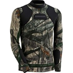 Hunt Guard Mossy Oak Camo Padded Hunting Shirt at Legendary Whitetails