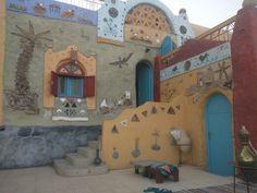Nubian Village #Aswan #Nuba #Egypt