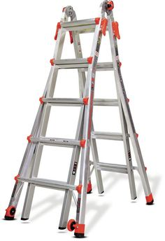 19 ft Aluminum Velocity Multi-Position Ladder