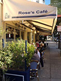Rose's Cafe à San Francisco, CA http://rosescafesf.com