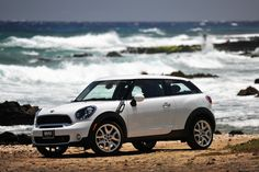 Making waves with the MINI Paceman.