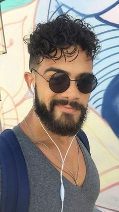 My hair will be styled in defined curls with shaved sides. Mens Messy Hairstyles, Haircuts For Long Hair, Undercut Hairstyles, Cool Haircuts, Haircuts For Men, Curly Hair Cuts, Curly Hair Styles, Wavy Hair, Haircut For Big Forehead