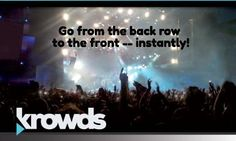 Krowds iOS  Android video sharing app lets you capture shared video from those around you!  #crowdsourcing #video