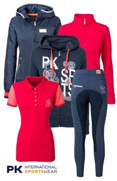 PK Summer Dark Blue-Pink  #pk #pkinternational #summer17 #equestrian #fashion