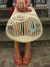 Cage Bag / Interesting for Bird Costume Forms?