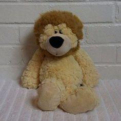 Nat and Jules Yellow Lion Stuffed Animal Plush Mickey Mouse Doll, Stuffed Animals, A5, Lion, Plush, Teddy Bear, Dolls, Yellow, Leo