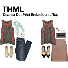 A fashion look from August 2014 featuring brown skirt, patent leather shoes and white flats. Browse and shop related looks.