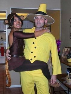 Curious George and the Man in the Yellow Hat