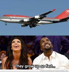 a little Kimye humor. Kim Kardashian. Kanye West.