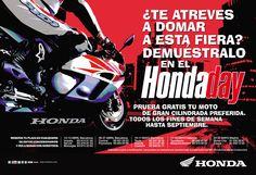 Gráfica Prensa / Honda Motos / Honda Day juannavarro.jnt@gmail.com