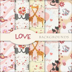 Free Digi Scrapbook Papers.  So So So Cute!
