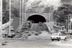 Niterói Antiga - construção do tunel