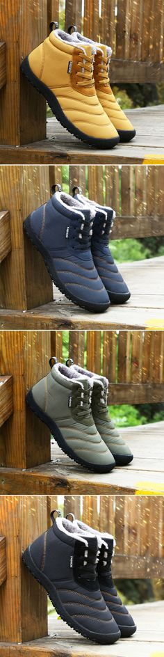 US$32.05#Mens Winter Boots