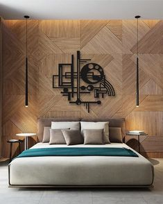 The impact of bedroom furniture will make you have a good night's sleep. Let's face it, and a modern bedroom furniture design can easily make it happen. Rustic Bedroom Furniture, Rustic Master Bedroom, Home Decor Bedroom, Bedroom Wall, Metal Furniture, Minimal Bedroom, Furniture Vintage, Master Bedrooms, Bed Design