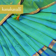 Woven in a beautiful pattern that is mesmerising, the motif you see on this… Kanjivaram Sarees Silk, Kanchipuram Saree, Soft Silk Sarees, Indian Bridal Sarees, Bridal Silk Saree, Indian Gowns, Indian Attire, Indian Wear, Saree Tassels Designs