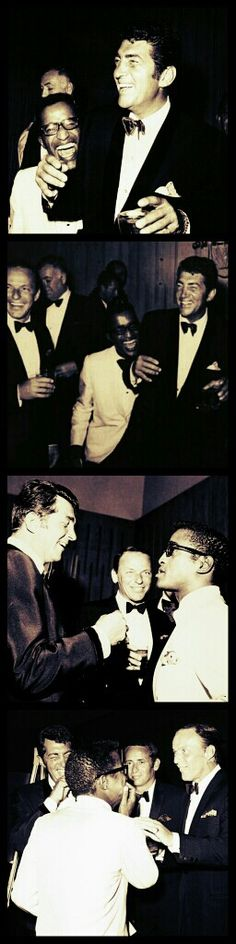 Dean Martin, Frank Sinatra and Sammy Davis Jr / AS1966
