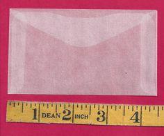 "50 NEW JBM #3 Glassine Envelopes 2-1/2"" x 4-1/4"" - http://stamps.goshoppins.com/stamp-publications-supplies/50-new-jbm-3-glassine-envelopes-2-12-x-4-14/"