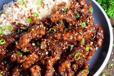 30 Minute Ginger Beef - Lord Byron's Kitchen Crispy Beef Chinese, Chinese Beef Recipes, Best Beef Recipes, Beef Recipes For Dinner, Asian Recipes, Meat Recipes, Cooking Recipes, Healthy Recipes, Chinese Food