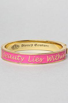 Disney Couture Jewelry The Beauty Lies Within Bracelet : Karmaloop.com - Global Concrete Culture http://www.karmaloop.com/product/The-Beauty-Lies-Within-Bracelet/232205