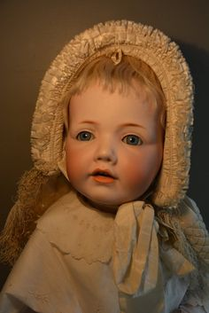 Gorgeous big Hilda baby doll, made by Kestner, tall