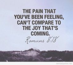 Pain that you ve been feeling