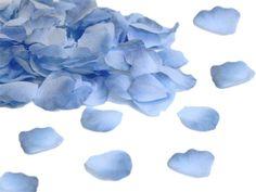 Kronblader Blå - 50stk - hos Til Bryllupet