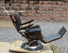 Antique RITTER Dental Dentist Office CHAIR Industrial Chic Tattoo Captain